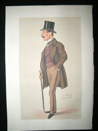 Vanity Fair Print: 1878 Charles Hastings Doyle. Literary